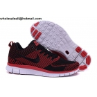 wholesale Nike Free 5.0 Flyknit Red Black Mens & Womens Shoes