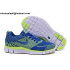 wholesale Womens Nike Free Flyknit 5.0 Blue Volt Running Shoes