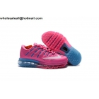 wholesale Kids Nike Air Max 2016 Pink Blue Shoes