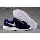 wholesale NIKE TanJun Navy Blue White Mens Running Shoes
