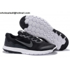 wholesale Nike Flex Experience 4 Black White Mens & Womens Shoes