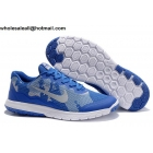 wholesale Nike Flex Experience 4 Blue White Mens Running Shoes