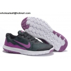 wholesale Nike Flex Experience 4 Black Purple Womens Shoes