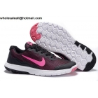 wholesale Nike Flex Experience 4 Black Pink Womens Shoes