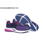 wholesale Womens Nike Air Presto Navy Blue White Pink Running Shoes