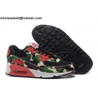 wholesale Nike Air Max 90 Green Camo Mens & Womens Shoes