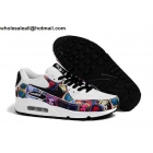wholesale Womens Nike Air Max 90 GS Marilyn Monroe White Shoes