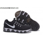 wholesale Womens Nike Air Max Tailwind 8 Black White Running Shoes