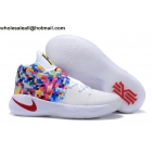 wholesale Mens & Womens Nike Kyrie 2 White Rainbow Basketball Shoes