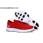 Nike HTM Flyknit Lunar Trainer Red White Mens Shoes