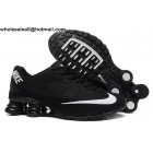 wholesale Nike Shox Turbo 21 Black White Mens Running Shoes