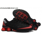 wholesale Nike Shox Turbo 21 Black Red Mens Running Shoes