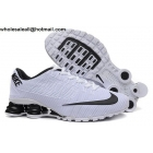 wholesale Nike Shox Turbo 21 White Black Mens Running Shoes