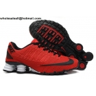 wholesale Nike Shox Turbo 21 Red Black White Mens Running Shoes