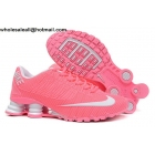wholesale Womens Nike Shox Turbo 21 Pink White Running Shoes