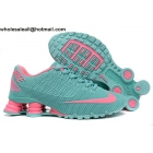 wholesale Womens Nike Shox Turbo 21 Cyan Pink Running Shoes