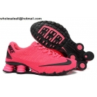 wholesale Womens Nike Shox Turbo 21 Pink Black Running Shoes