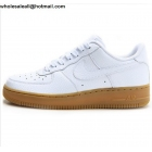 wholesale Nike Air Force 1 Low White Gum Mens & Womens Shoes