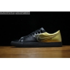 wholesale Pedro Lourenco Nike Blazer Low Black Gold Mens & Womens Shoes
