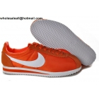 wholesale Nike Classic Cortez Nylon Orange White Mens & Womens Trainer