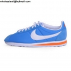 wholesale Nike Classic Cortez Blue White Orange Mens & Womens Trainer