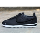 wholesale Nike Classic Cortez Embroidery Black Mens & Womens Trainer