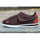 wholesale Nike Cortez Embroidery Brown White Mens & Womens Trainer