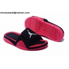 Jordan Hydro 4 Retro Black Red Mens Slide