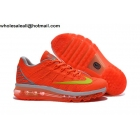 wholesale Womens Nike Air Max 2016 Orange Grey Volt Running Shoes