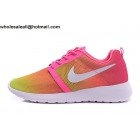 wholesale Nike Roshe Run Flight Weight Pink Volt White Womens Trainer