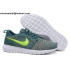 Nike Roshe Run Flyknit Mineral Teal Volt Mens Running Shoes