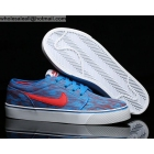 wholesale Nike Toki Low TXT PRM Canvas Blue Red Mens Casual Shoes