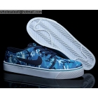 wholesale Nike Toki Low Blue White Camo Mens Casual Shoes