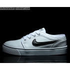 Nike Toki Low Leather White Black Mens Casual Shoes