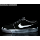 wholesale Nike Toki Low Suede Black White Mens Casual Shoes