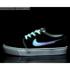 wholesale Nike Toki Low Suede Black Cyan Mens Casual Shoes