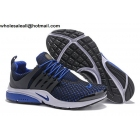 wholesale Nike Air Presto Grey Blue Mens Running Shoes