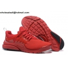 wholesale Nike Air Presto All Red Mens Running Shoes