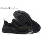Nike Air Presto All Black Mens Running Shoes
