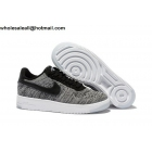 wholesale Nike Air Force 1 Low Flyknit Mens & Womens Grey White Shoes