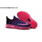 Kids Nike Air Max 2016 Dark Blue Pink Shoes