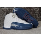 wholesale Air Jordan 12 GS French Blue Womens Basketball Shoes