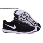 wholesale Nike Flex Run 2016 Black White Mens & Womens Trainer