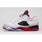 wholesale Air Jordan 5 Low Fire Red Mens Basketball Shoes