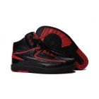 wholesale Air Jordan 2 Alternate 87 Black Red Mens Basketball Shoes