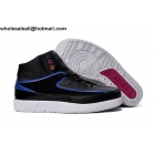 wholesale Air Jordan 2 Radio Raheem Black Photo Blue Mens Basketball Shoes