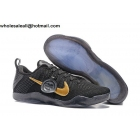wholesale NIKE KOBE 11 ELITE LOW FTB BLACK MAMBA Gold