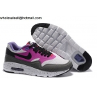 wholesale Womens Nike Air Max 1 Ultra Essentials Purple Grey Running Shoes