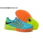 Nike Air Max 2015 Kids Blue Running Shoes