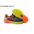 Kids Nike Air Max 2015 Black Orange Volt Shoes
